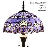 Tiffany Style Reading Floor Lamp Table Desk Lighting Baroque Design W16H64 E26