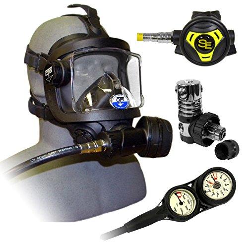 Ocean Technologies Guardian Fullface Mask Package (Black)