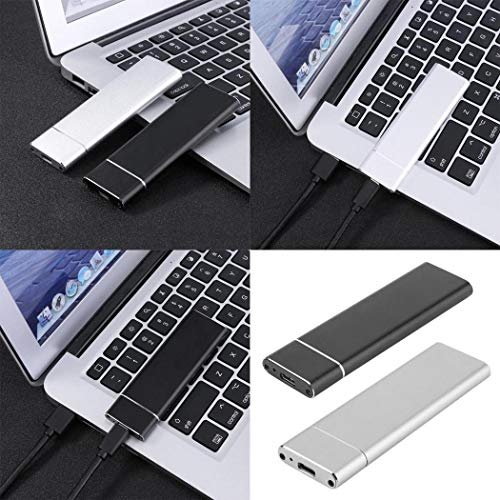 Pinsparkle USB 3.1 to M.2 SSD Mobile Hard Disk Box External Enclosure Case Adapter Card External Hard Drives from Pinsparkle