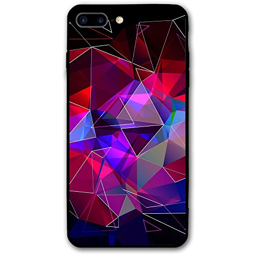 IPhone 8 Plus Case, Featured Imported Environmentally Friendly PC Materials Effectively Protect Your Phone Is Not Scratched And Bruised For Apple IPhone 8 Plus (5.5-inch) Colorful Polygonal - Eyeglass Canada Cases