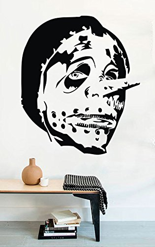 USA Decals4You | Music Wall Decals Corey Taylor Mask Slipknot Stickers Vinyl MK1843