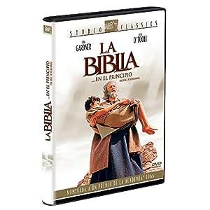 LA BIBLIA EN EL PRINCIPIO (THE BIBLE IN THE BEGINNING) [NTSC/REGION 4 DVD. Import-Latin America]