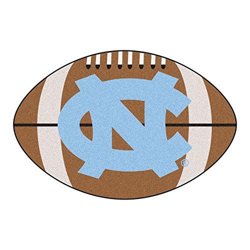 (FANMATS NCAA UNC University of North Carolina - Chapel Hill Tar Heels Nylon Face Football Rug)