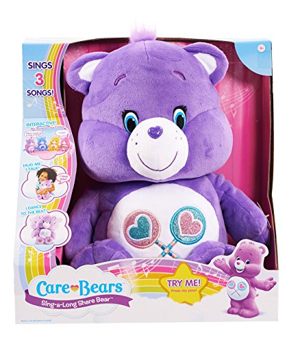 - Care Bears Share Sing-a-Long Bear Plush