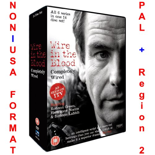 Wire In The Blood: Completely Wired - Series 1-6 Collection [NON-U.S.A. FORMAT: PAL Region 2 U.K. Import] (The Wire Season 6 Dvd)