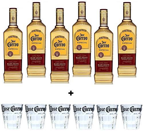 Jose Cuervo Tequila Especial Reposado Dorado 1 Litro 6