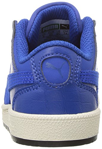 PUMA Kids Sky II Lo Color Blocked Sneaker,Lapis Blue-Lapis Blue,2.5 M US Little Kid
