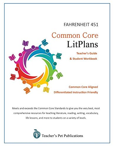 Workbook differentiated instruction worksheets : Amazon.com: Common Core Litplans: Fahrenheit 451 (9781583374177 ...