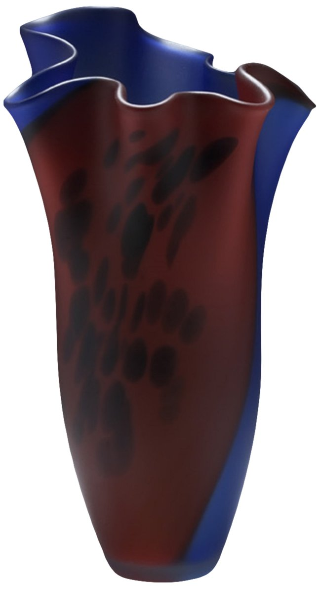 Prime Elys Glass Art Vase Vases Red Blue Elys Glass Art 1327 Ibusinesslaw Wood Chair Design Ideas Ibusinesslaworg
