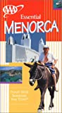Front cover for the book AAA Essential Guide: Menorca by AAA Publishing