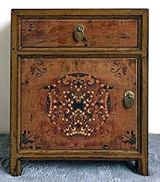 Opium Outlet Chinesiche Commode Table De Chevet Case Confiturier