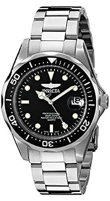 Invicta Men's 8932 Pro Diver Collection Silver-Tone Watch by Invicta