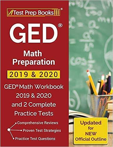 Best Ged Practice Test 2020 GED Math Preparation 2019 & 2020: GED Math Workbook 2019 & 2020