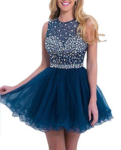 A Blau Marineblau Linie LYDIAGS Damen Kleid UxRqI5