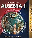McDougal Littell Algebra 1, Ron Larson, Laurie Boswell, Timothy D. Kanold, Lee Stiff, 0618250190