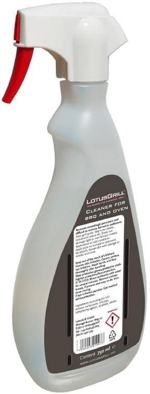 LotusGrill Limpiador para Barbacoa y hornos, Transparente, LGPULITORE750