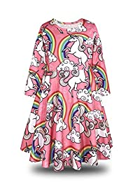 ModaIOO Gilrs Long Sleeve Dress