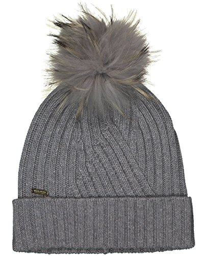 Cappello Wwacc1350 Hat S Donna Tg Grigio Soft Col Woolrich W's BwXqanFIBd