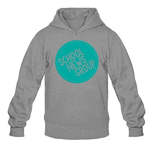 Men's School News Logo Hoodie Sweatshirt