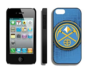 Best Iphone 4 Case NBA Denver Nuggets 02 Special Cheap Athletic Element New Designer Iphone 4s Cover