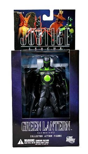 Dc Direct Green Lantern - DC Direct Justice League Alex Ross Series 6 Action Figure Armored Green Lantern by DC Comics