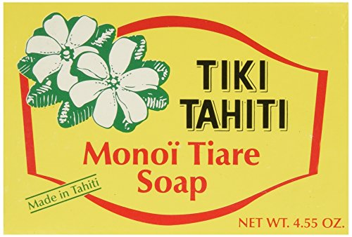 Monoi Tiare Tahiti (Gardenia) Bar Soap 4.55 Ounces ()