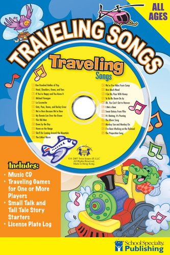 Traveling Songs Sing Along Activity Book with CD (Sing Along Activity Books) by Brighter Child (Image #1)