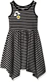 The Children's Place Baby Toddler Girls' Sleeveless Casual Dresses, Black 7134, 2T