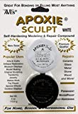 Apoxie Sculpt 1/4 lb. White, 2 part modeling compound (A & B)