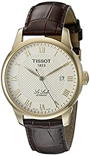 Tissot Men's T41.5.413.73 Le Locle Automatic Skeleton-Back Watch (B000JKYZL6) | Amazon price tracker / tracking, Amazon price history charts, Amazon price watches, Amazon price drop alerts