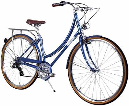 Zycle Fix Civic Women - Misty Blue - Women City Series 7 Speed Urban Commuter Bike