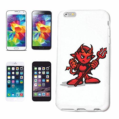 """cas de téléphone iPhone 7 """"DEVIL DEVIL 666 FIRE DEVIL LIFESTYLE FASHION STREETWEAR HIPHOP SALSA LEGENDARY"""" Hard Case Cover Téléphone Covers Smart Cover pour Apple iPhone en blanc"""