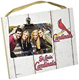 "KH Sports Fan 10""x8"" Weathered St. Louis Cardinals Clip It Logo Photo Frame, 10"" x 8"""