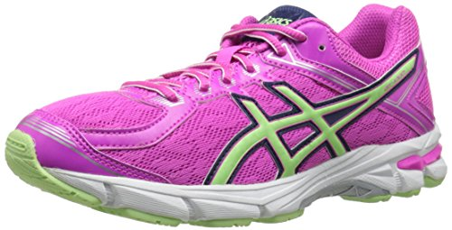 ASICS GT 1000 4 GS Running Shoe (Little Kid/Big Kid), Pink Glow/Pistachio/Indigo Blue, 6.5 M US Big Kid