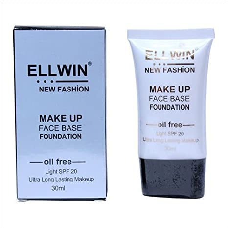 31059651a529 Buy ELLWIN Face Base Foundation 30ml set of 12 pcs Online at Low ...