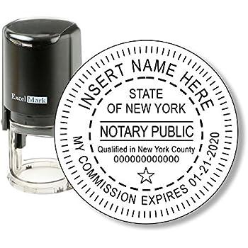 Amazon Com Xstamper Pre Inked Custom Stamp N42 New York