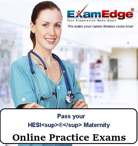 Pass your HESI  Maternity (5 Practice Tests) by Exam Edge, LLC