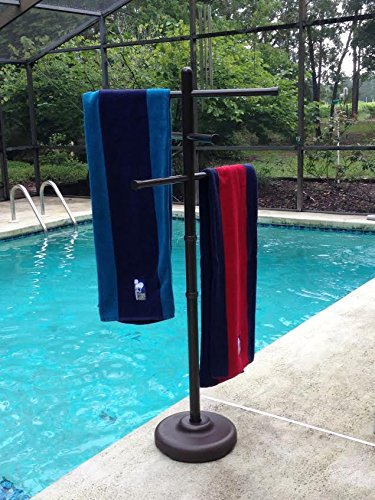 Outdoor Lamp Company Outdoor Spa and Pool Towel Rack - Bronze (Outdoor Spa And Pool Towel Rack compare prices)