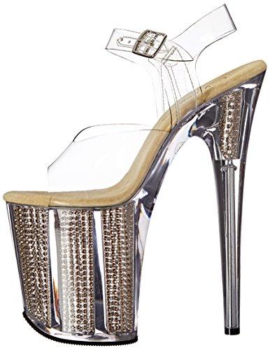 Srs Donna Pleaser Sandali Clr gold Flamingo 808srs fgfYwqA6