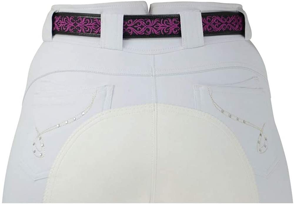 Hy Womens//Ladies Meydan Leather Belt