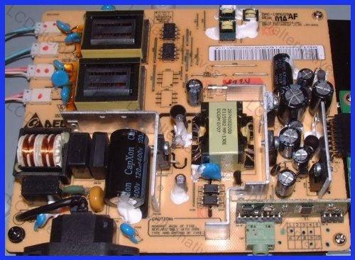Repair Kit, Westinghouse LCM-22w3 LCD Monitor Capacitor, Not the Entire Board by LCDalternatives