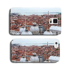 VENICE, ITALY. The top view from San Marco kampanilla cell phone cover case Samsung S5