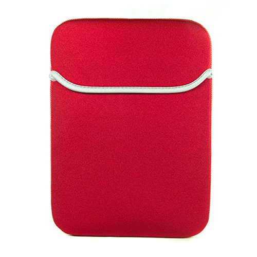(Red/Black Ainol-novo Cube Talk 9X U65GT,Onda V919 3G Air 9-Inch Tablet Vertical Reversible Neoprene Case Sleeve [Limited Edition])