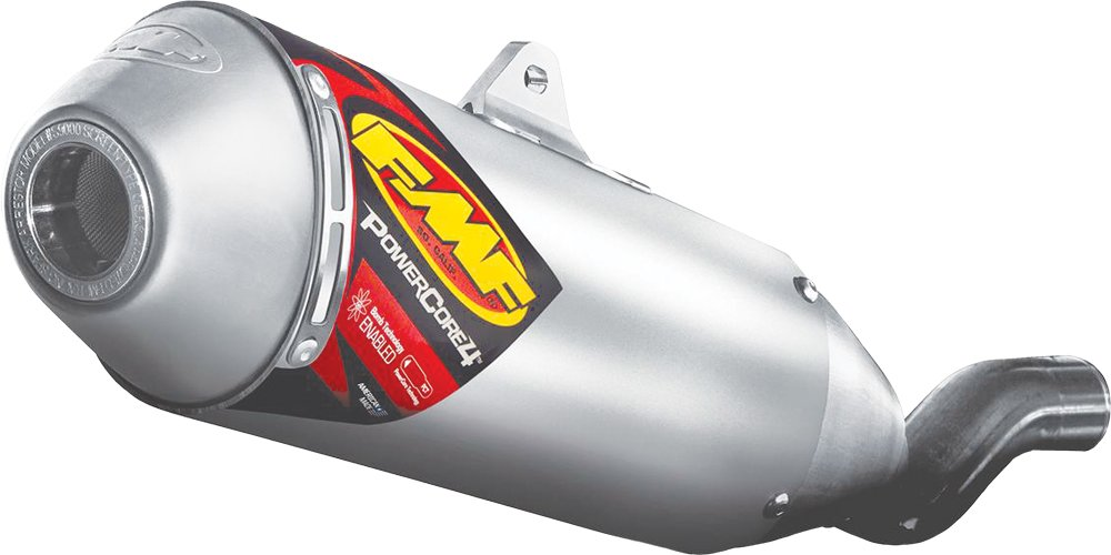 FMF Power Core 4 Slip-On Exhaust Aluminum