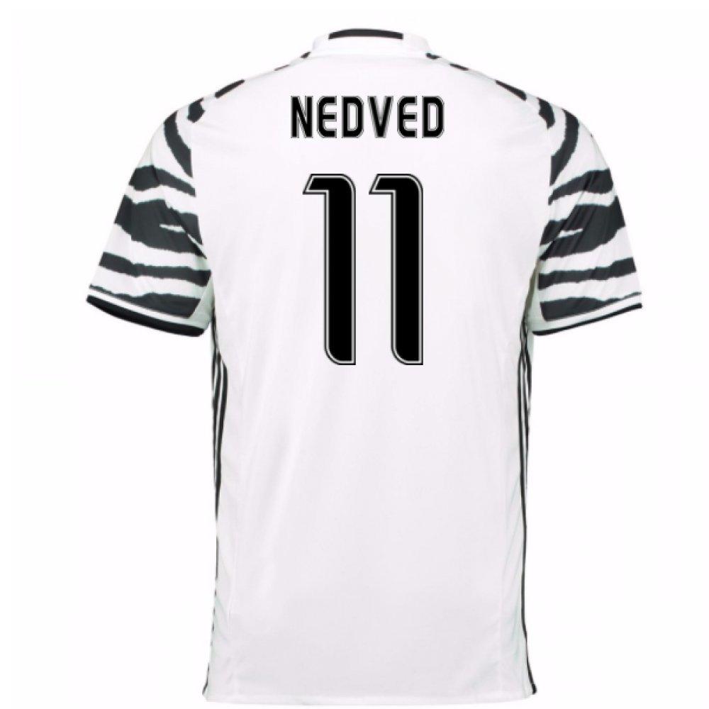 2016-17 Juventus 3rd Football Soccer T-Shirt Trikot (Pavel Nedved 11)
