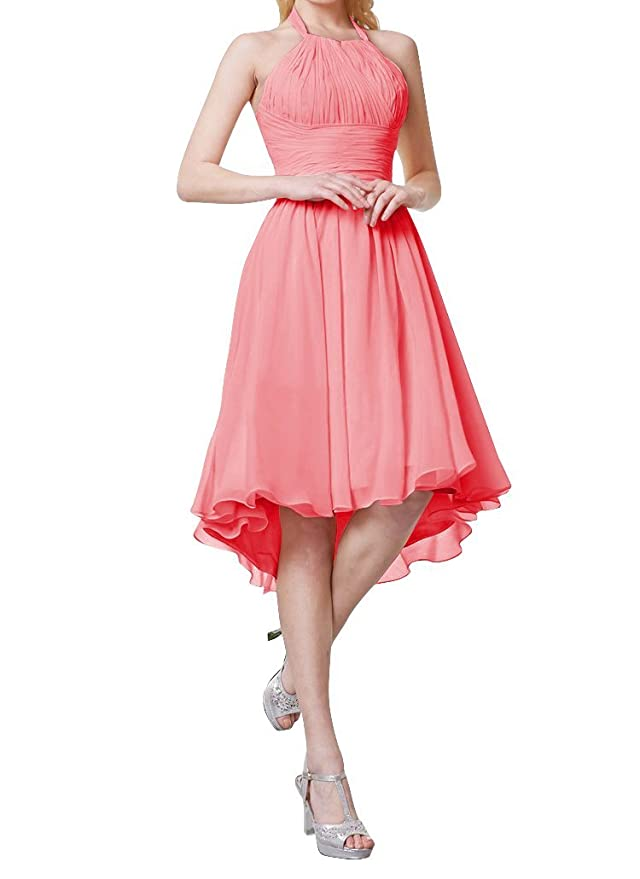 Amazon.com: Always Pretty Women\'s Hi-Lo Chiffon Party Cocktail ...