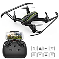 Navigator / U31W WIFI FPV Quadcopter Drone with 720P HD Camera - 120 Degree Wide-Angle, Altitude Hold, Headless Mode, One Button Take Off / Landing /Emergency Stop All Included for Beginners
