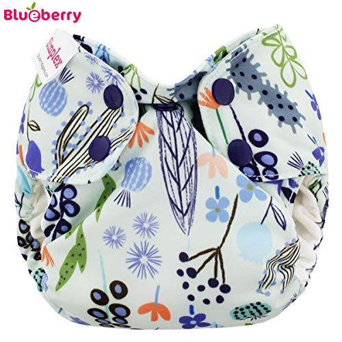 Blueberry Simplex Newborn (AIO) – Sedona – (coton biologique)