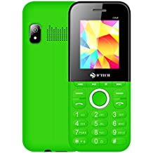 New D'Tech One - GSM Factory Unlocked Basic Feature Phone - Radio - Dual SIM - Music Player - Torch Light - VGA Camera (Green)
