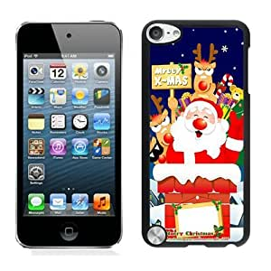 Best Buy Santa Claus Black iPod Touch 5 Case 26